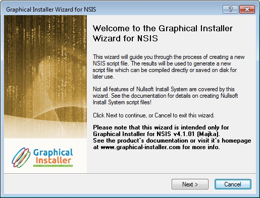 nsis wizard